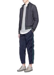 kolorCheck plaid blouson jacket