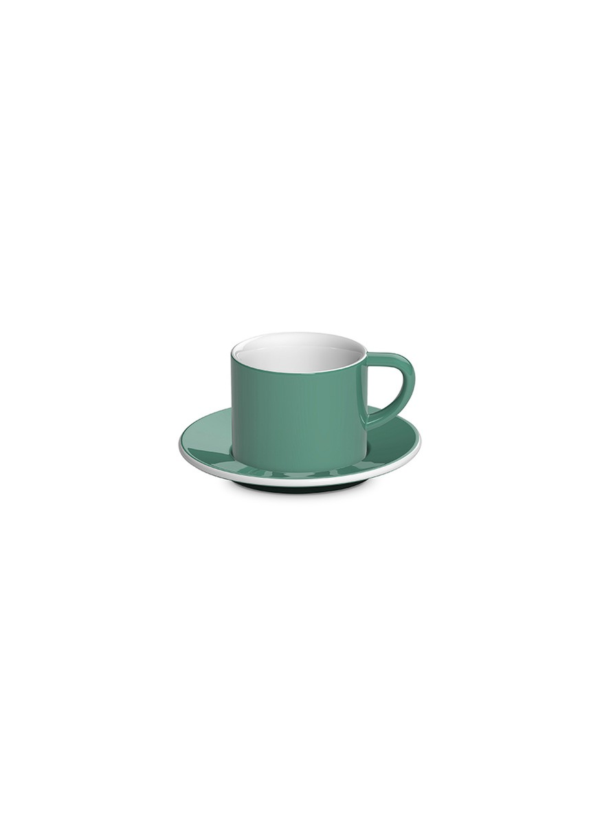 Bond cappuccino cup and saucer set by LOVERAMICS