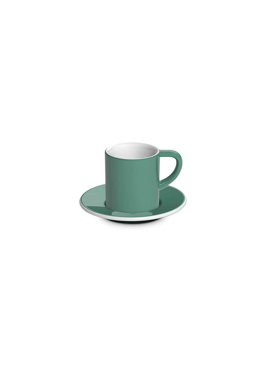 Bond espresso cup and saucer set by LOVERAMICS