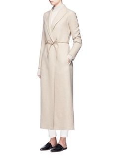 The Row'Bieden' braided tie waist cashmere coat