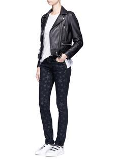 Saint LaurentStar print skinny jeans