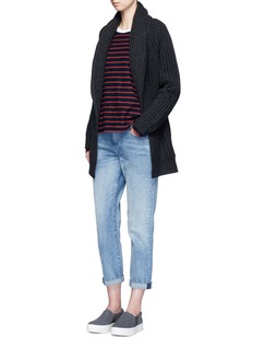 Vince 'Car Coat' wool-cashmere chunky knit cardigan