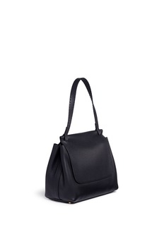 The Row 'Sidekick' leather flap shoulder bag