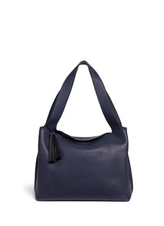 The Row 'Duplex' horsehair tassel leather tote