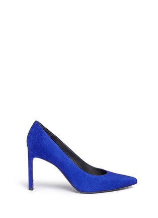 Main View - Click To Enlarge - Stuart Weitzman - 'Heist' suede pumps