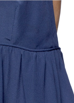 Detail View - Click To Enlarge - Chloé - Silk crepe de Chine V-neck camisole