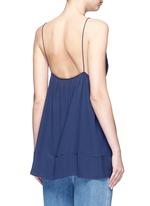 Silk crepe de Chine V-neck camisole
