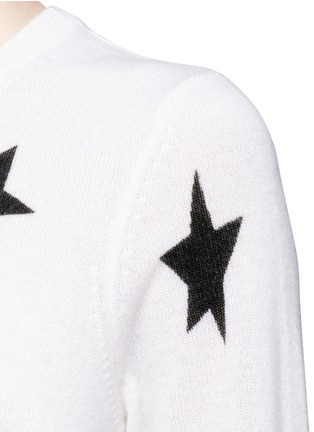 Detail View - Click To Enlarge - Equipment - 'Rei' star intarsia cashmere sweater