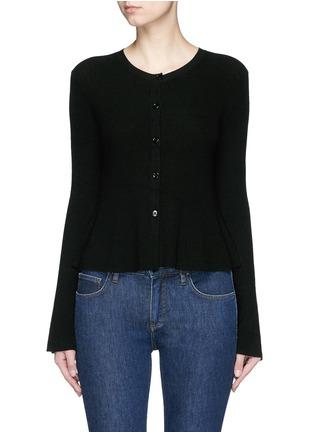 Theory-'Marlenia' rib knit cardigan