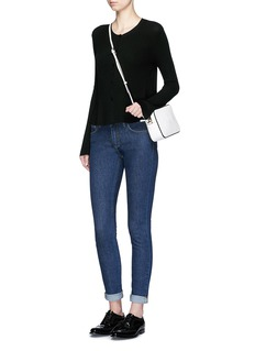 THEORY'Marlenia' rib knit cardigan