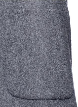 细节 - 点击放大 - AGNONA - 羊绒长大衣