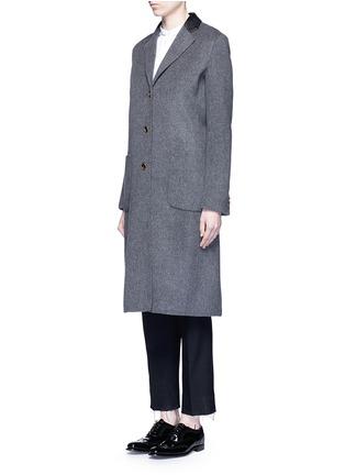 正面 -点击放大 - AGNONA - 羊绒长大衣