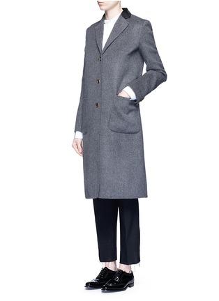 模特儿示范图 - 点击放大 - AGNONA - 羊绒长大衣