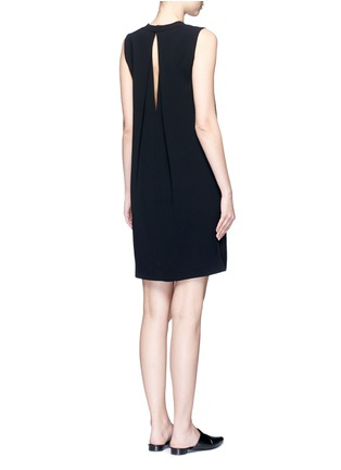 Back View - Click To Enlarge - Vince - Pleat back sleeveless shift dress