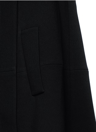 Detail View - Click To Enlarge - Co - Gathered crepe jacket