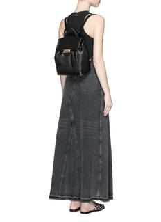 ALEXANDER WANG 'Prisma' skeletal hardware constrast leather backpack