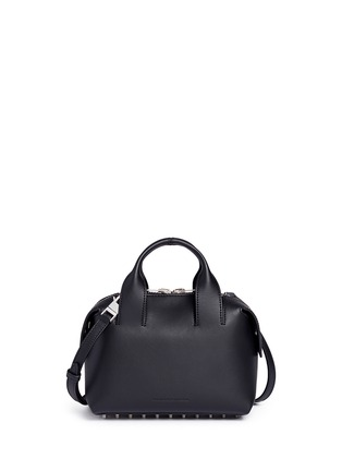 Back View - Click To Enlarge - Alexander Wang  - 'Rogue' small leather satchel