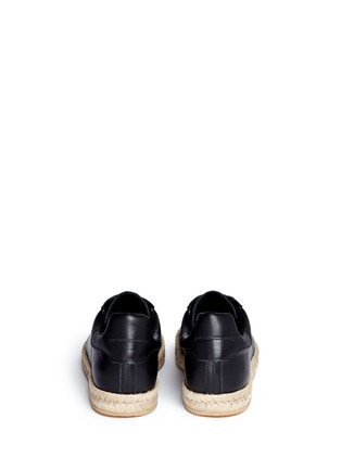 Back View - Click To Enlarge - Alexander Wang  - 'Rian' leather espadrille sneakers