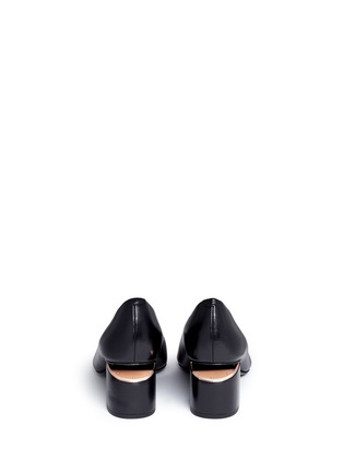 Back View - Click To Enlarge - Alexander Wang  - 'Simona' cutout heel leather pumps