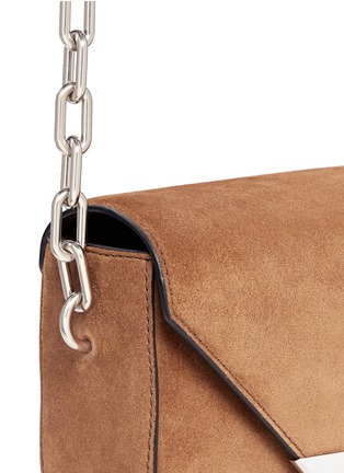 Detail View - Click To Enlarge - Alexander Wang  - 'Prisma' mini suede envelope sling bag