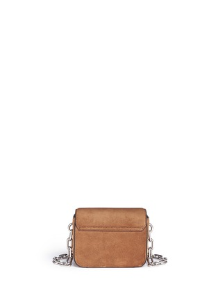 Back View - Click To Enlarge - Alexander Wang  - 'Prisma' mini suede envelope sling bag