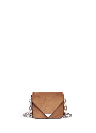 Main View - Click To Enlarge - Alexander Wang  - 'Prisma' mini suede envelope sling bag