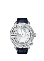 'La Giostra II' crystal horse watch