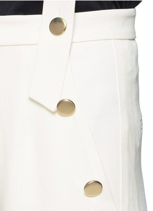 Detail View - Click To Enlarge - Mo&Co. - Wide leg overall pants