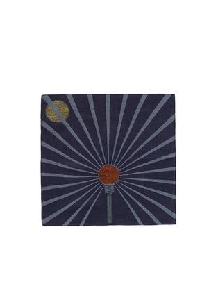 Main View - Click To Enlarge - Paul Smith - Lightbulb bouclé modal blend pocket square