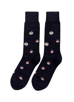 Paul Smith - Stripe polka dot socks
