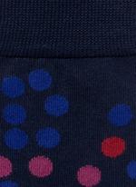 Falling polka dot socks