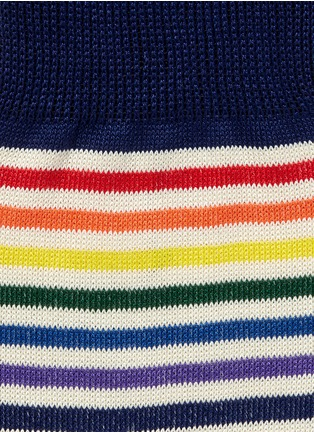 Detail View - Click To Enlarge - Paul Smith - Fine stripe socks