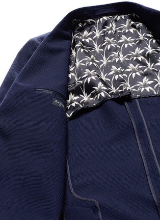 - PS by Paul Smith - Patch pocket crosshatch wool blazer