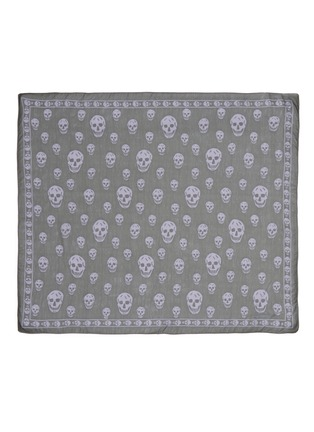 Main View - Click To Enlarge - Alexander McQueen - Classic skull silk scarf