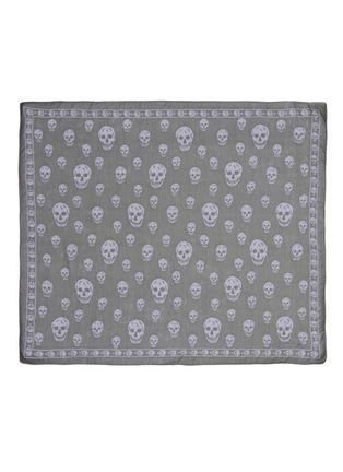 Alexander McQueen-Classic skull silk scarf