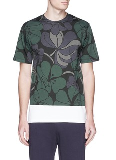 MARNIHawaiian floral print T-shirt