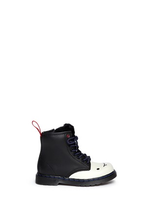 Main View - Click To Enlarge - Dr. Martens - x Adventure Time 'Marceline B' leather infant boots