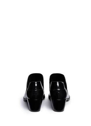 Back View - Click To Enlarge - 3.1 Phillip Lim - 'Dolores' cutout leather platform booties