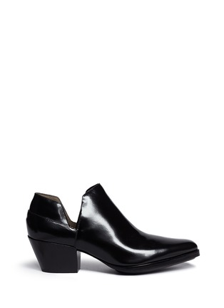 Main View - Click To Enlarge - 3.1 Phillip Lim - 'Dolores' cutout leather platform booties