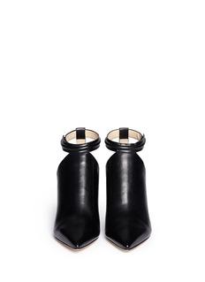 3.1 PHILLIP LIM'Martini' cutout leather pumps