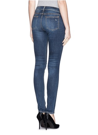 Back View - Click To Enlarge - rag & bone/JEAN - Ripped skinny jeans