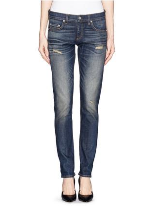 Detail View - Click To Enlarge - rag & bone/JEAN - 'The Dre' slim fit boyfriend jeans