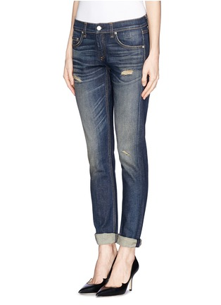 Front View - Click To Enlarge - rag & bone/JEAN - 'The Dre' slim fit boyfriend jeans