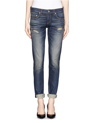 Main View - Click To Enlarge - rag & bone/JEAN - 'The Dre' slim fit boyfriend jeans