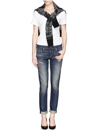 Figure View - Click To Enlarge - rag & bone/JEAN - 'The Dre' slim fit boyfriend jeans