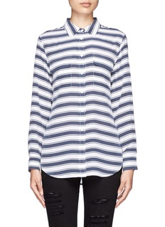 EQUIPMENT Slim Signature stripe silk shirt