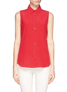 EQUIPMENT Colleen sleeveless silk shirt