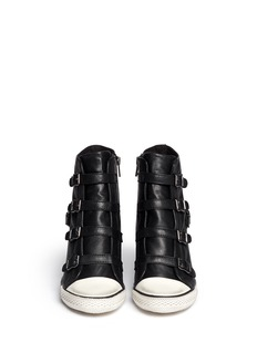 ASH 'United' leather wedge sneakers