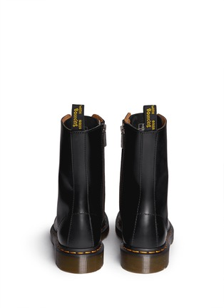 Back View - Click To Enlarge - Dr. Martens - 'Alix' matte leather boots