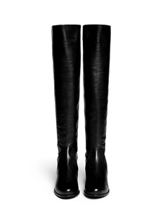 STUART WEITZMAN'Reserve' elastic back leather boots